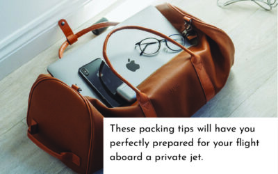 7 Packing Tips for Private Flights