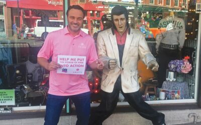 Men Rock Pink to Raise Awareness for Breast Cancer